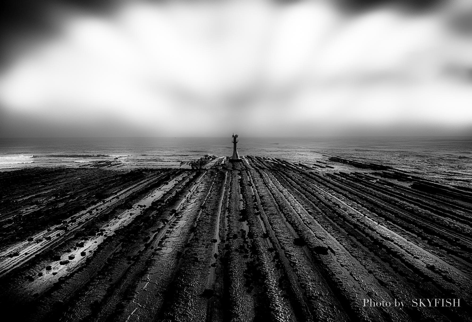 ドローンで空撮した灯台